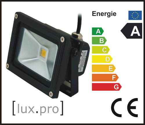 lux-pro-10W-LED-SMD-FLUTER-OBJEKTBELEUCHTUNG-STRAHLER-CLEAR-WHITE-WEIss-NEU
