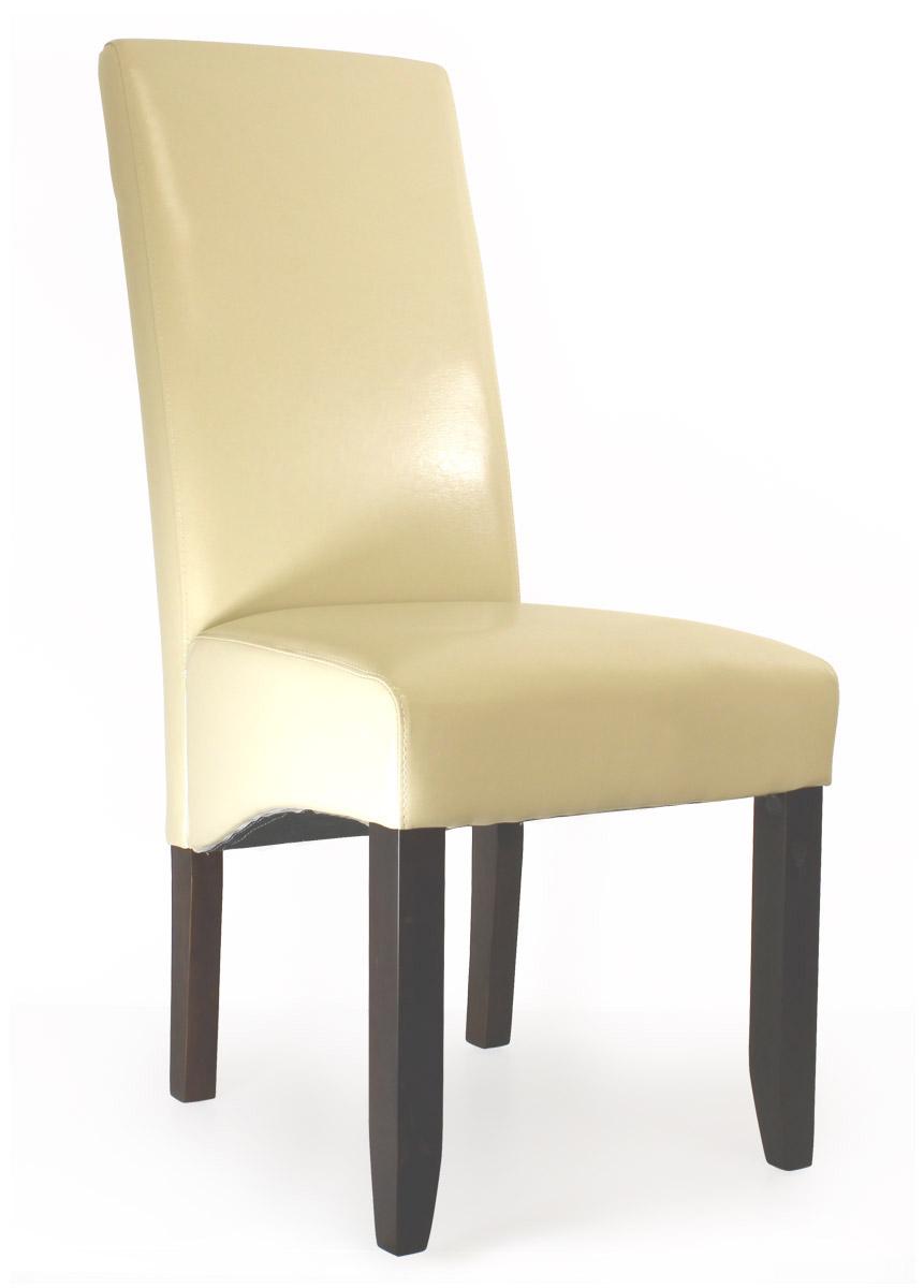 6x corium lederst hle st hle hochlehner braun oder creme 6 st ck esszimmer stuhl. Black Bedroom Furniture Sets. Home Design Ideas