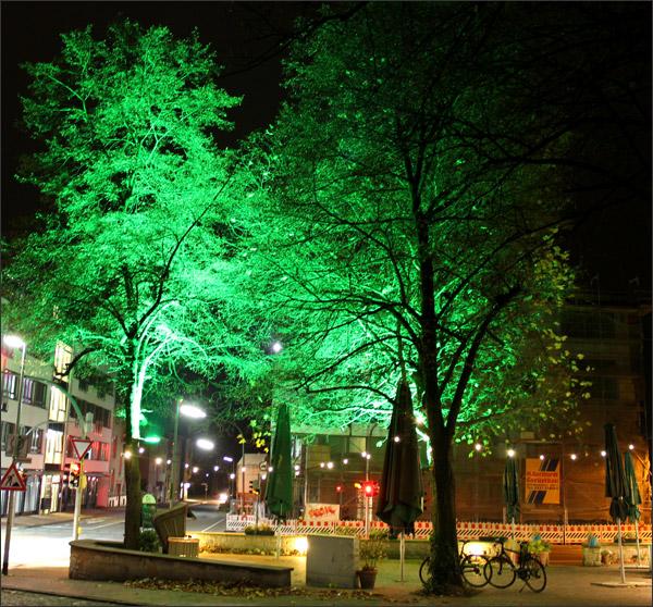 50w led smd fluter grun gartenstrahler garten beleuchtung With französischer balkon mit strahler garten baum
