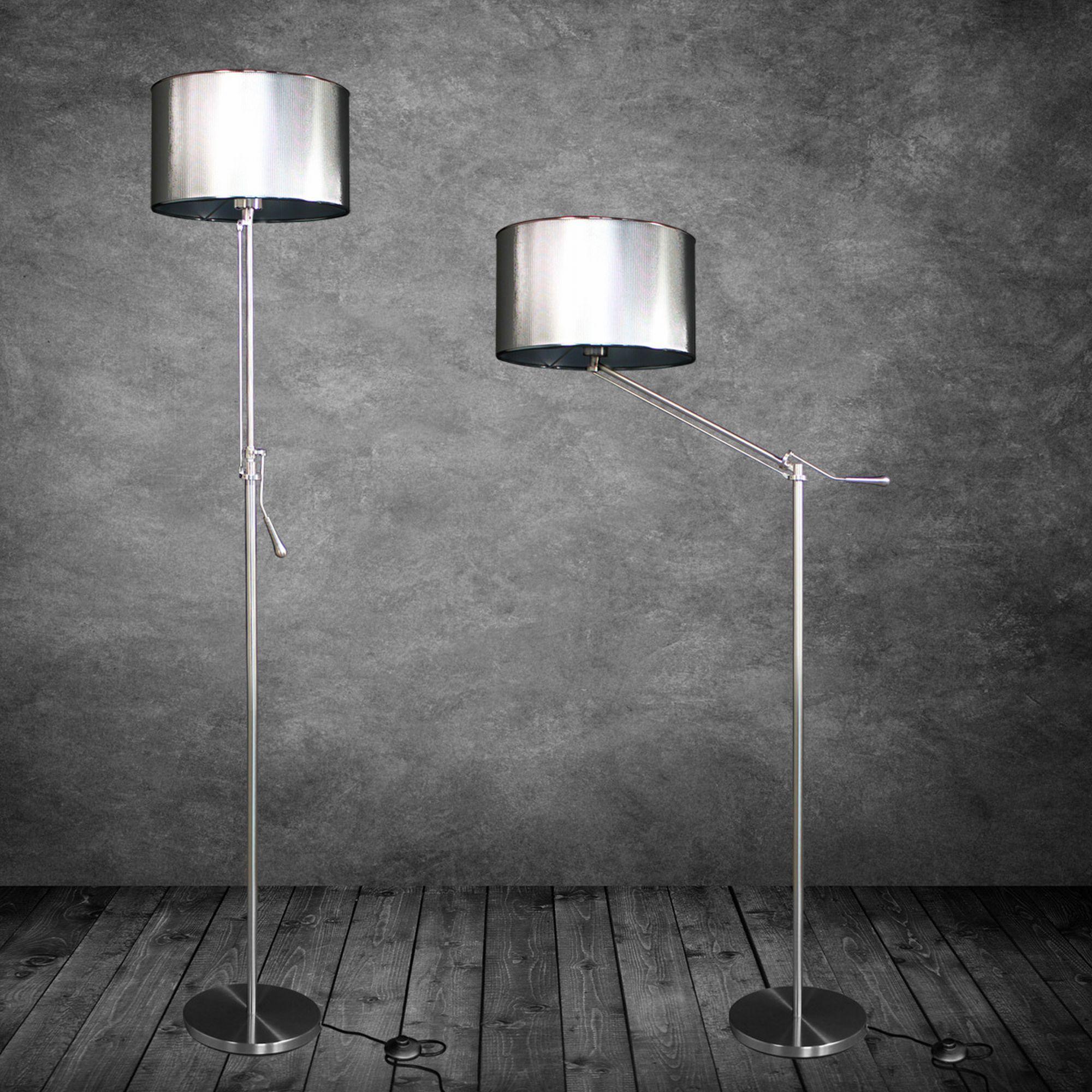 Design stehleuchte stehlampe wohnzimmer lampe leuchte standleuchte ebay - Stehleuchte wohnzimmer ...
