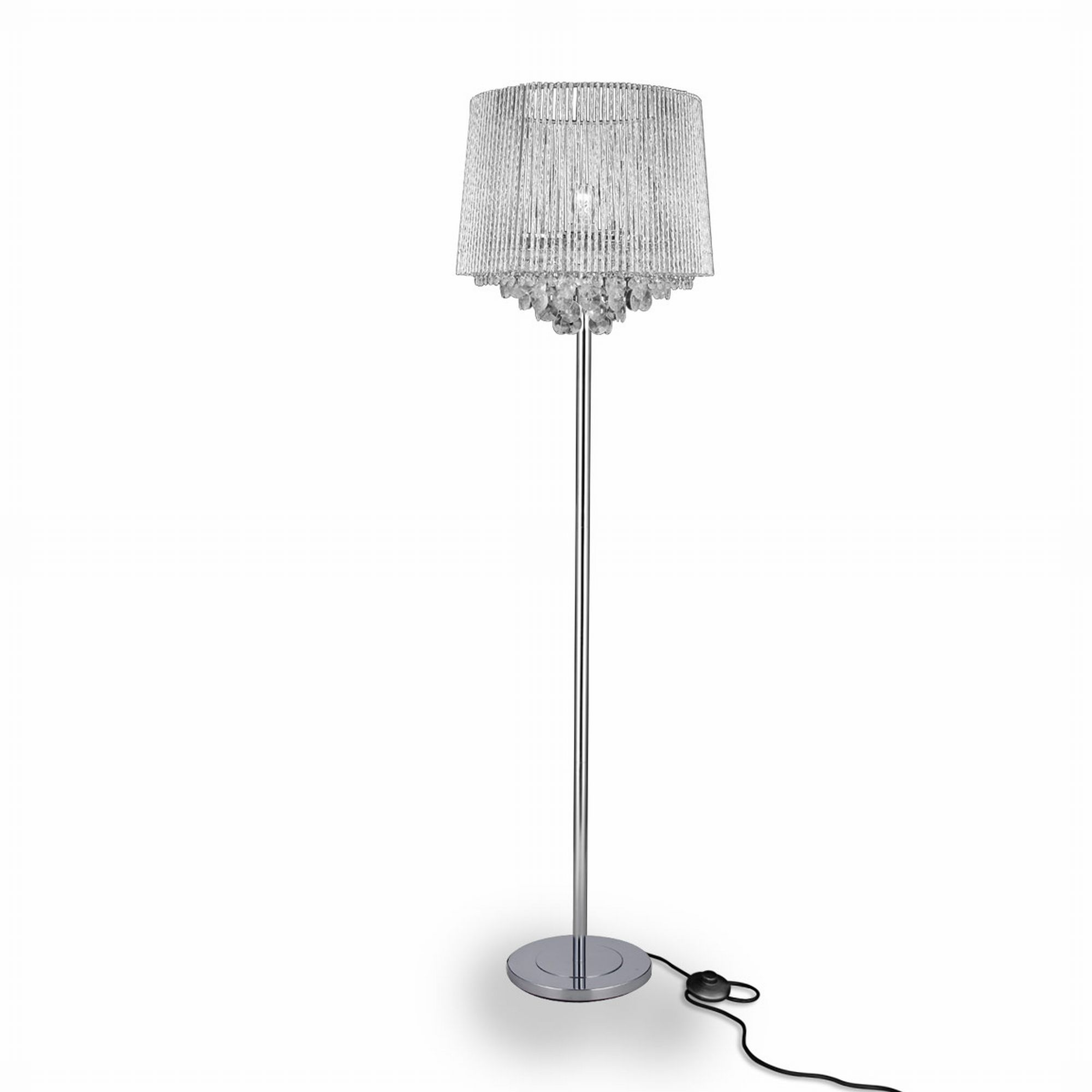 Elegante luxpro kristall stehleuchte stehlampe lampe for Stehlampe kristall