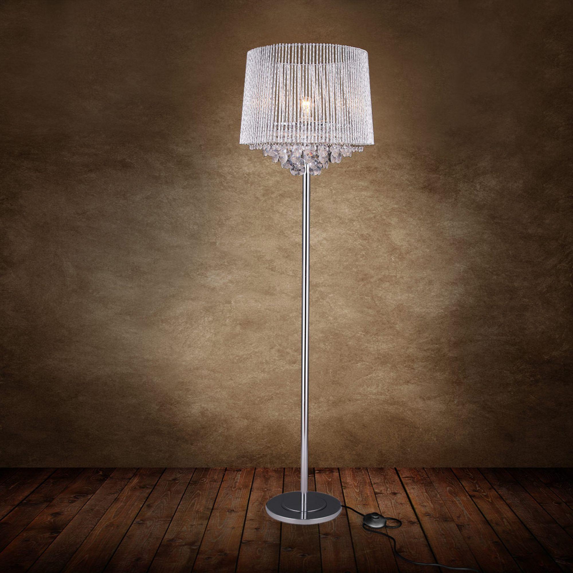 elegante luxpro kristall stehleuchte stehlampe lampe leuchte standleuchte edel ebay. Black Bedroom Furniture Sets. Home Design Ideas