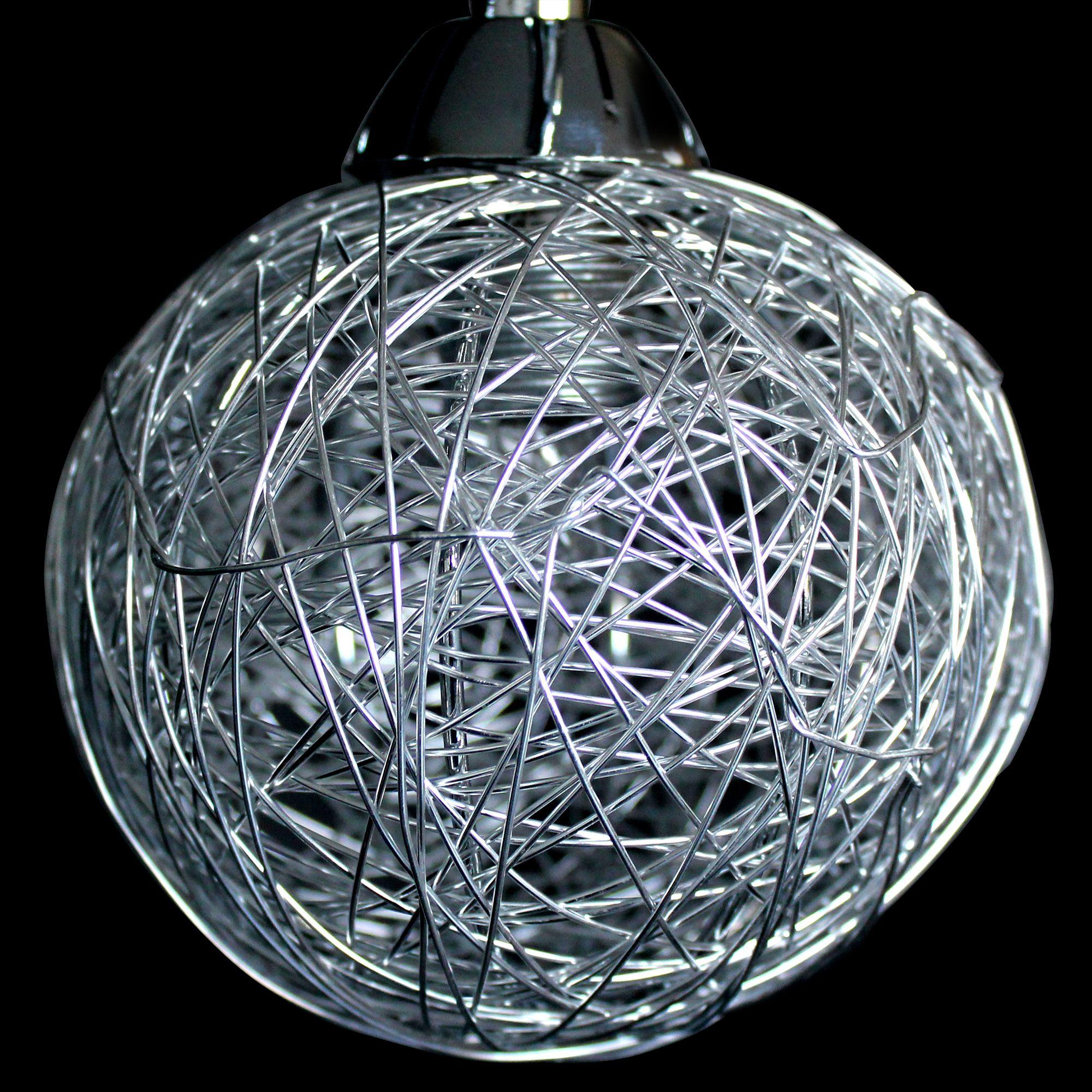 lux pro deckenleuchte 52cm 5 flammig effekt deckenlampe. Black Bedroom Furniture Sets. Home Design Ideas