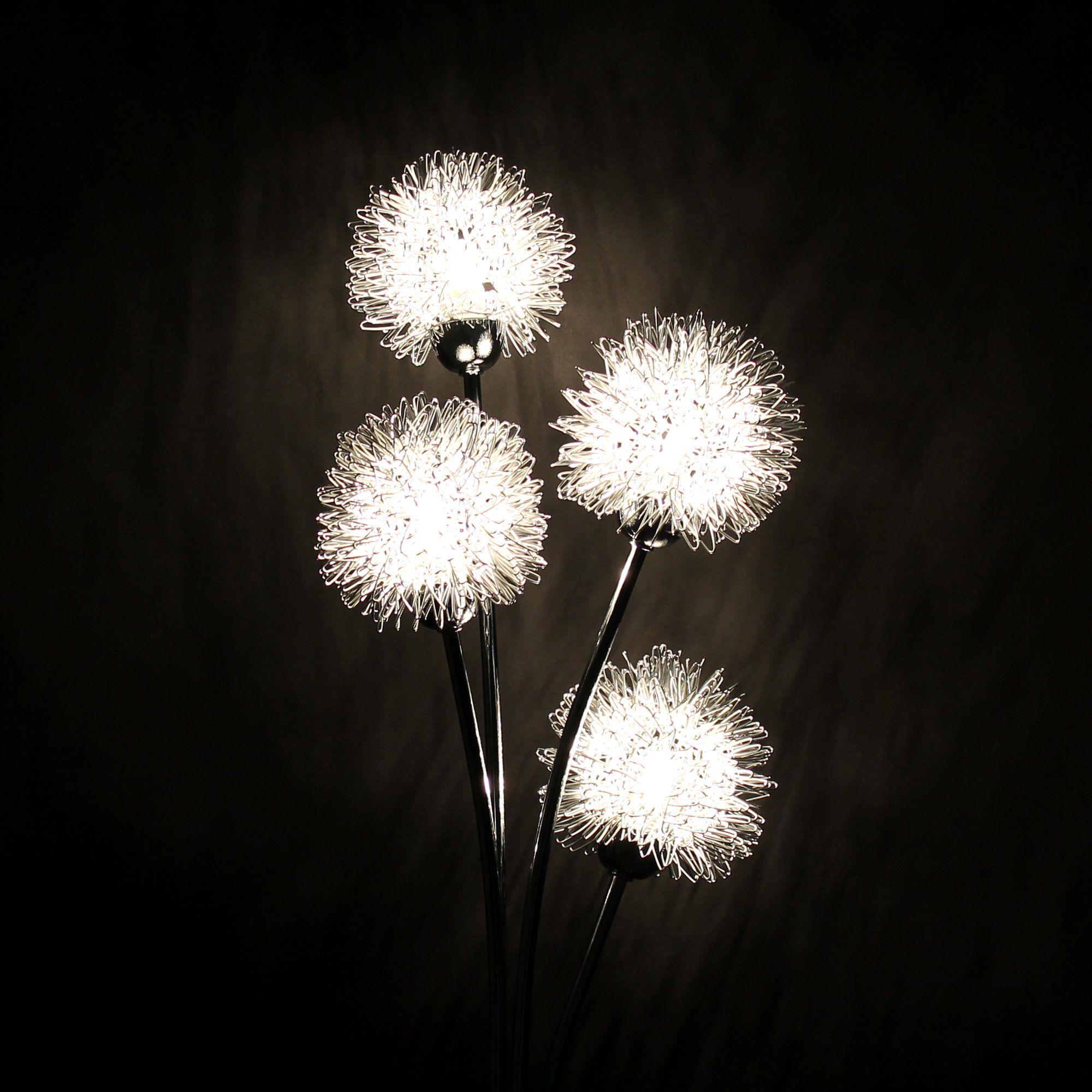 lux pro stehlampe stehleuchte 4 flammig kugel moderne. Black Bedroom Furniture Sets. Home Design Ideas