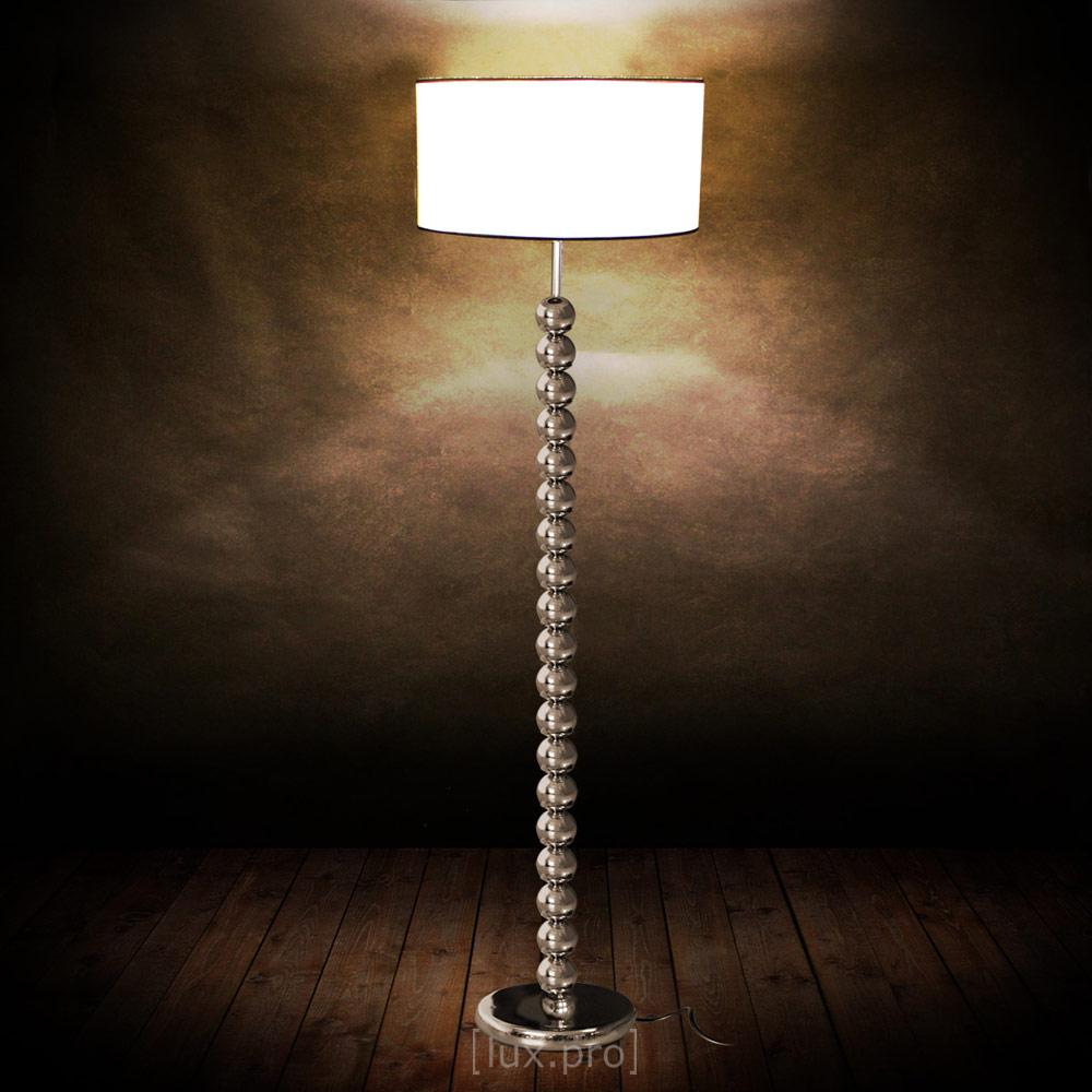 stilvolle stehleuchte stehlampe chrom lampe wohnzimmerlampe leuchte standleuchte. Black Bedroom Furniture Sets. Home Design Ideas