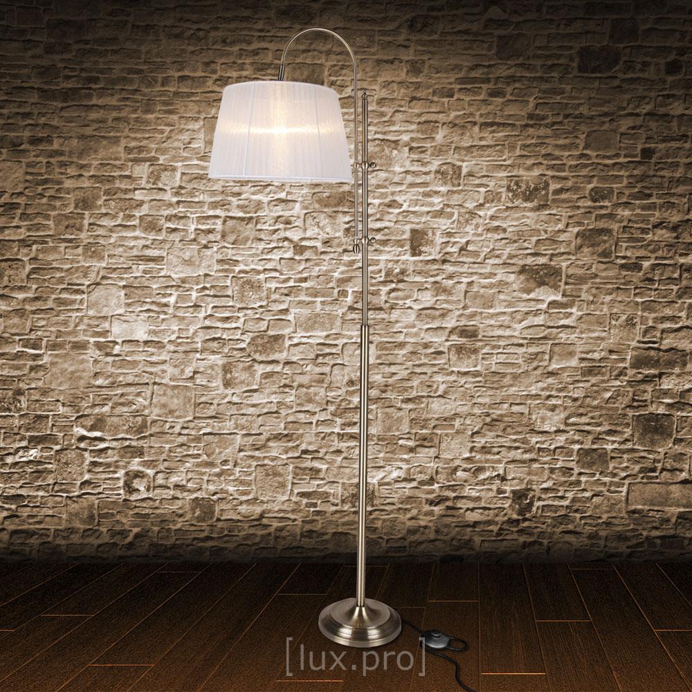 Elegante Stehleuchte Stehlampe Bogen Lampe Wohnzimmerlampe Leuchte Standleuchte