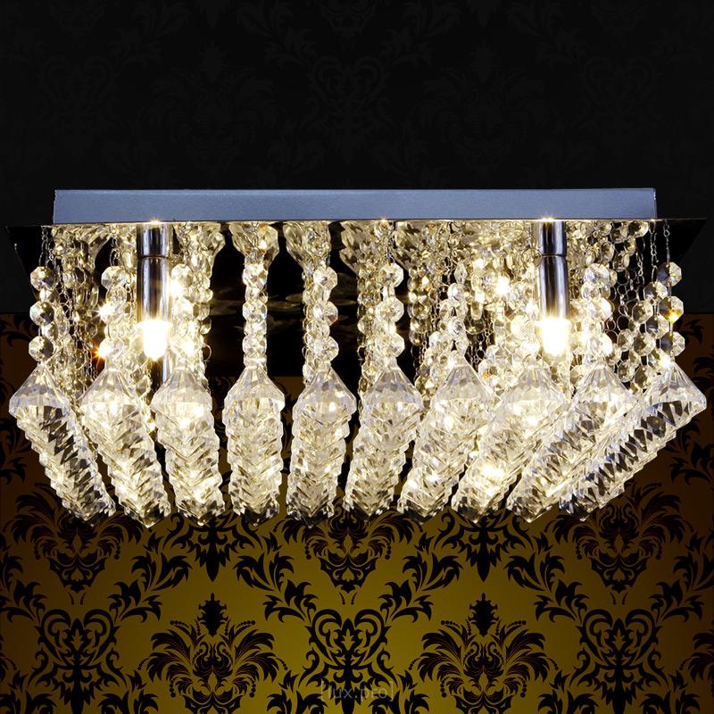 Lux pro kristall deckenleuchte 40cm kronleuchter for Kronleuchter chrom kristall