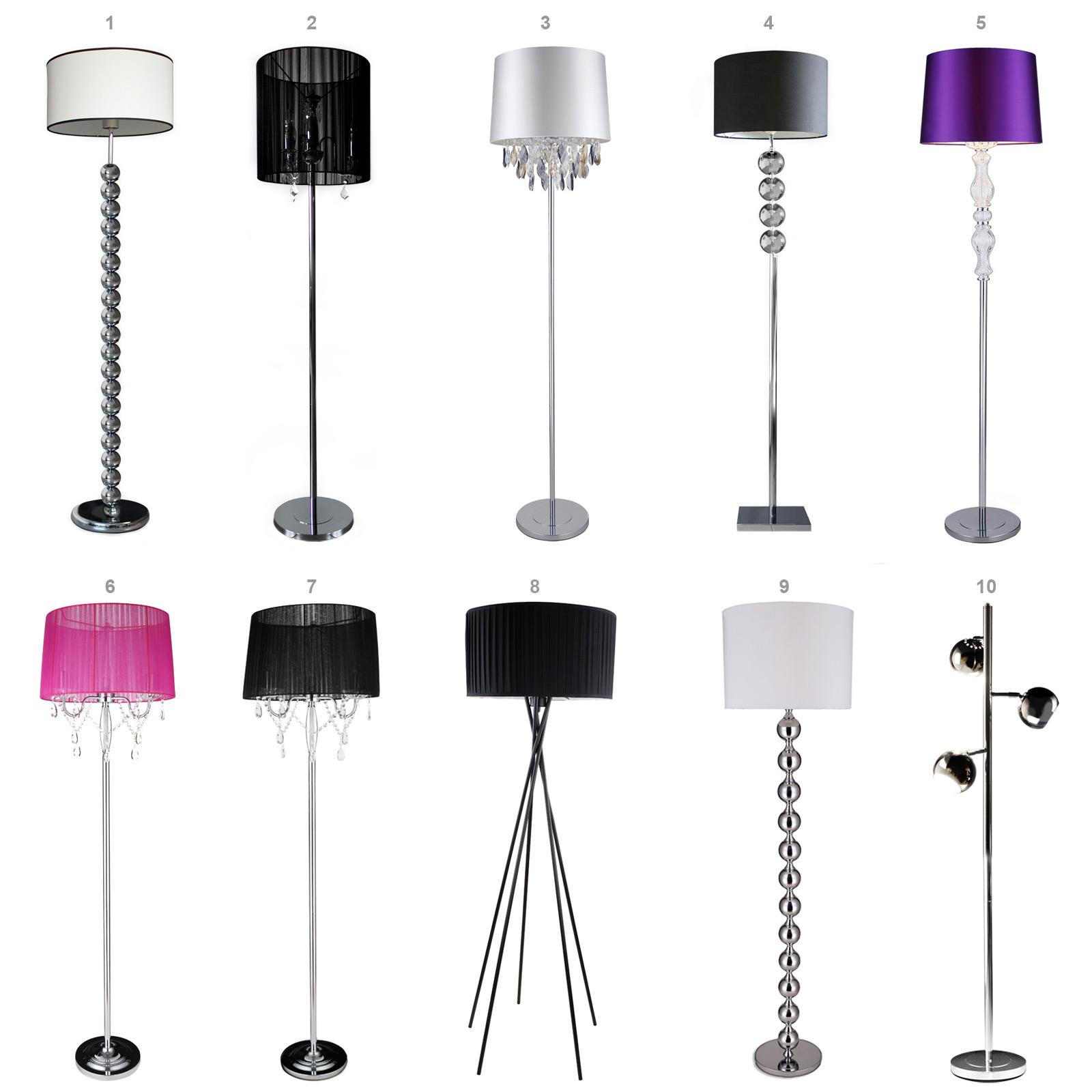 lux pro stehleuchte stehlampe lampe wohnzimmerlampe leuchte standleuchte ebay. Black Bedroom Furniture Sets. Home Design Ideas