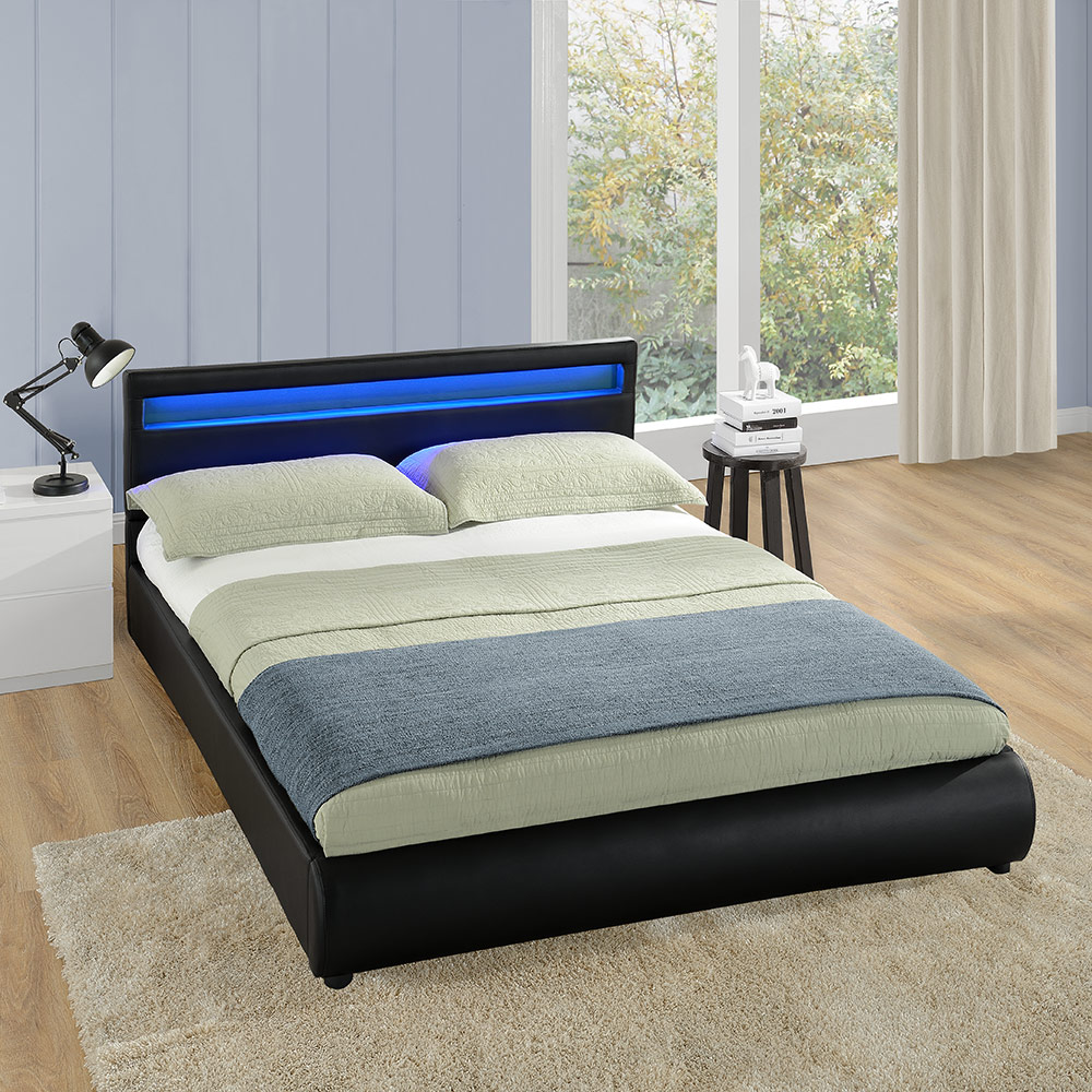 Led leseleuchte bett led bettleuchte bettlampe leselampe for Bett mit led
