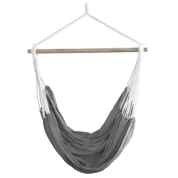 neu holz xxl h ngesessel grau h ngesitz h ngeschaukel. Black Bedroom Furniture Sets. Home Design Ideas