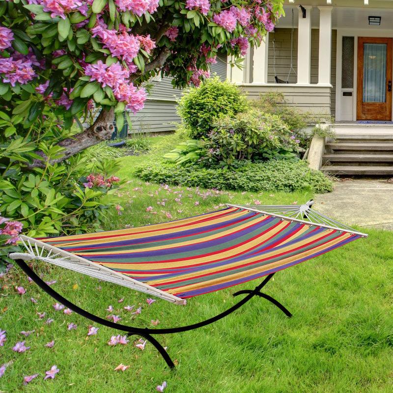 xxl h ngematte mit gestell color. Black Bedroom Furniture Sets. Home Design Ideas