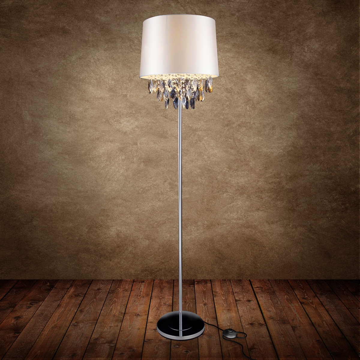 lux pro moderne clairage vertical lampadaire lampe clairage de salon lampe stand ebay. Black Bedroom Furniture Sets. Home Design Ideas