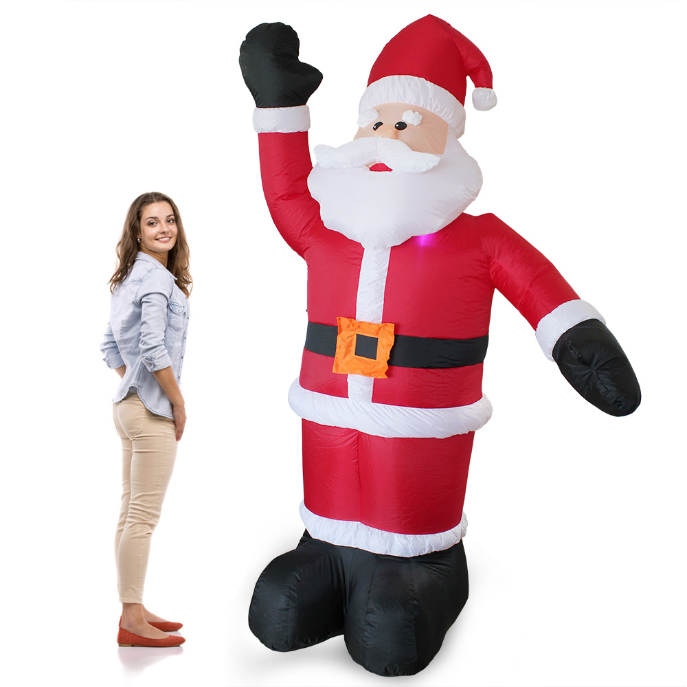 weihnachts deko weihnachten x mas nikolaus weihnachtsmann schneemann ebay. Black Bedroom Furniture Sets. Home Design Ideas