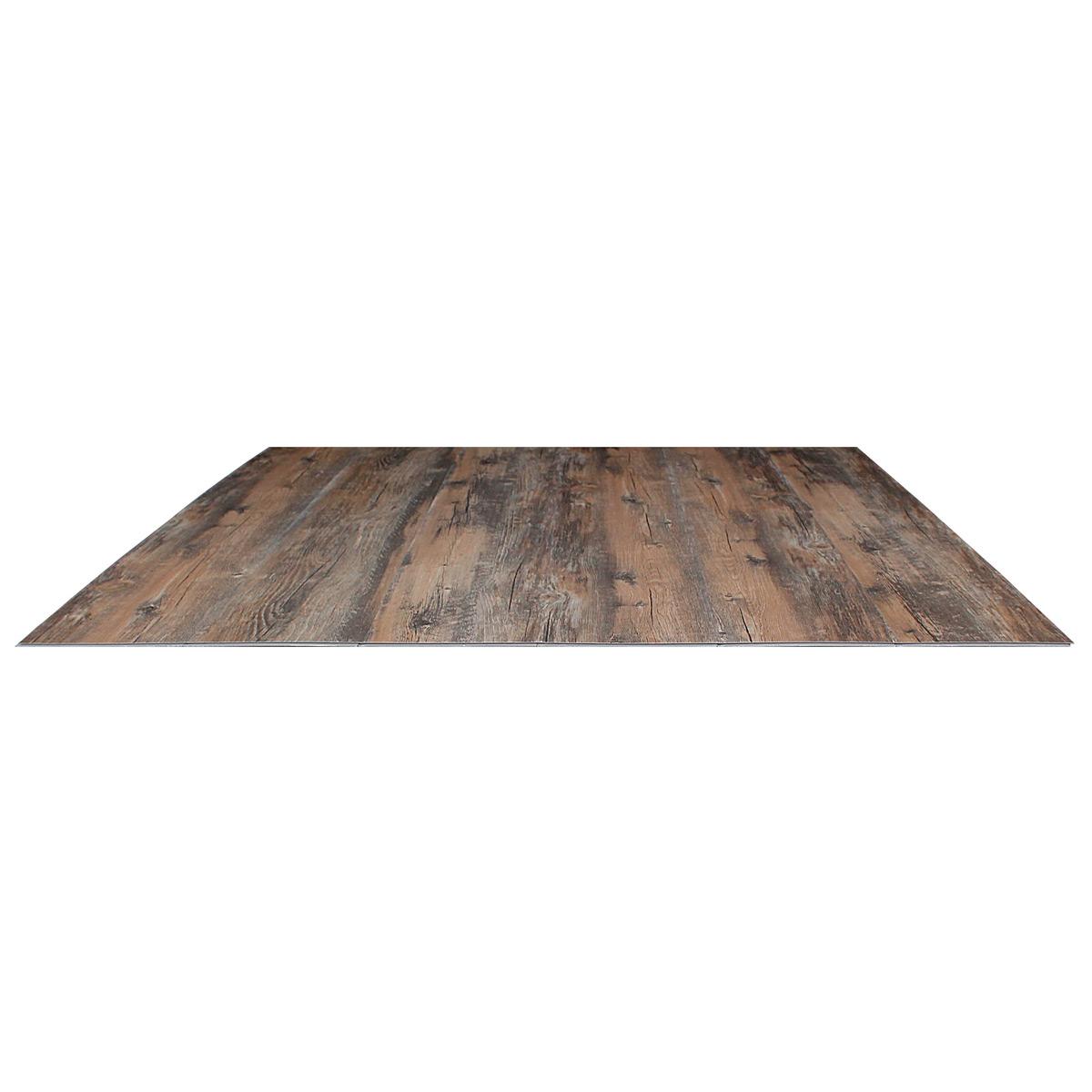 New oak m vinyl laminate click old floor