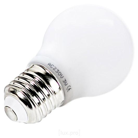 10x-lux-pro-E27-KERAMIK-LAMPE-LED-3W-225LM-BIRNE-WARMWEIss-3000K-GLUHBIRNE