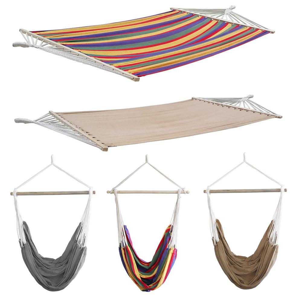 neu holz xxl mehrpersonen h ngematte 200kg h ngeliege h ngesessel outdoor sitz ebay. Black Bedroom Furniture Sets. Home Design Ideas