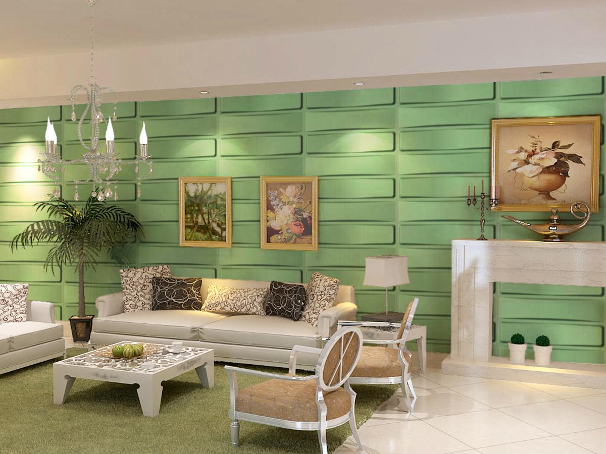 neu holz 6m 3d panneaux muraux d cor mural design mur lambris brique ebay. Black Bedroom Furniture Sets. Home Design Ideas