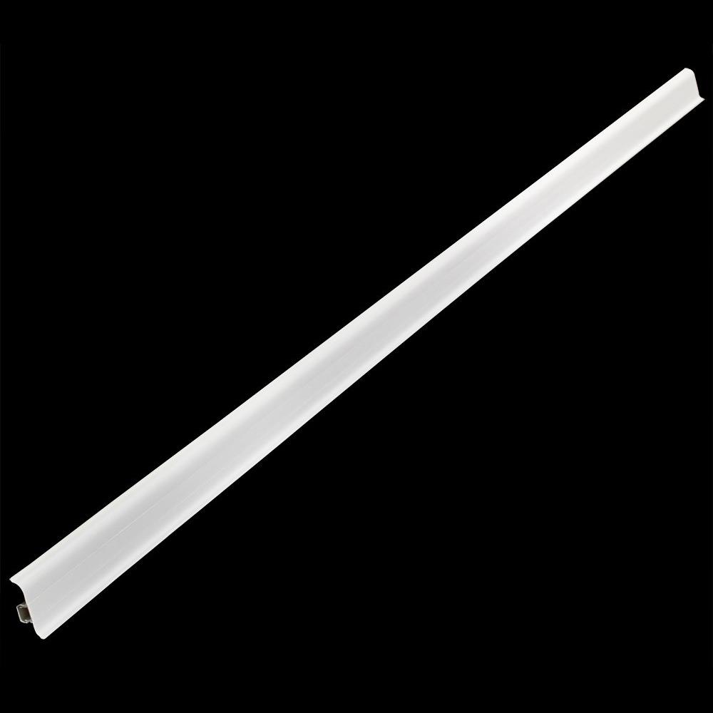 ... 5m Sockelleiste 60mm Fußleiste Kabelkanal Sockel Leisten PVC Kabel