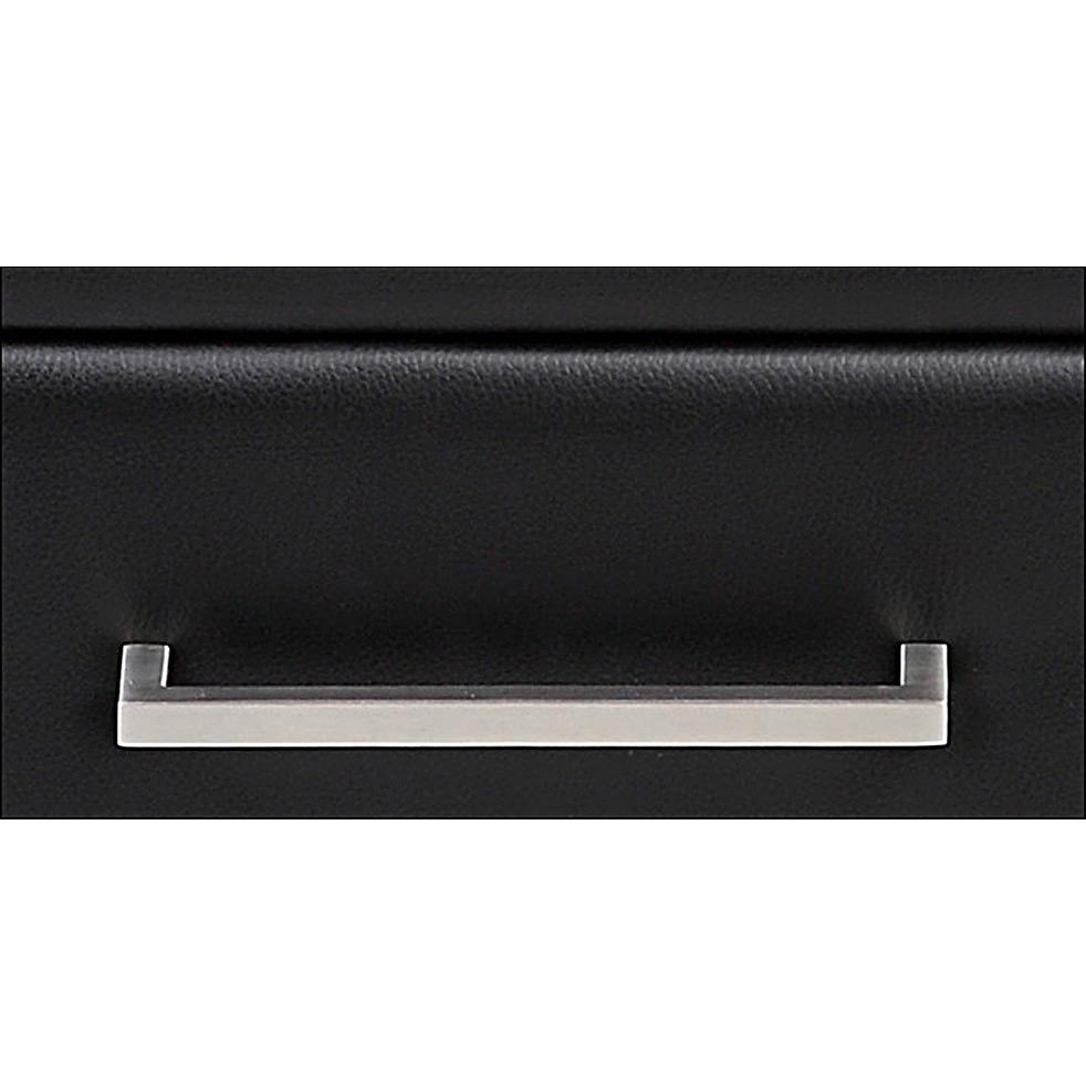 betthocker ottomane nachttisch sitzhocker sitztruhe schwarz wei kunst leder ebay. Black Bedroom Furniture Sets. Home Design Ideas